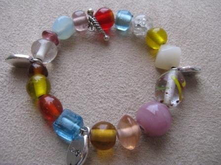 Live, Laugh, Love Rainbow Recovery Bracelet for Small Wrist