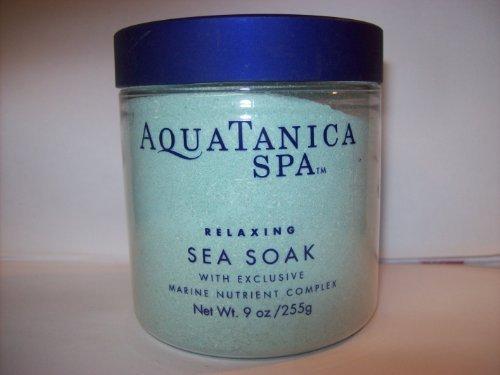 Bath and Body Works AquaTanica Spa Relaxing Sea Soak W Marine Nutrient Complex 9