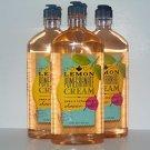 Bath & Body Works Lemon Pomegranate Cream Shower Gel 10 Oz - Lot of 3
