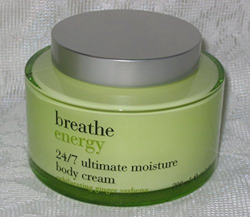 Bath & Body Works Breathe Energy Exhilarating Ginger Verbena 24/7 Ultimate Moist