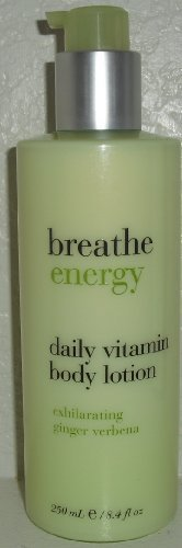 Bath & Body Works Breathe Energy Daily Vitamin Lotion ~ Exhilarating Ginger Verb