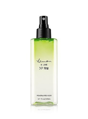 Bath and Body Works C.o Bigelow Lemon & Lime Fragrance Body Mist No 1818