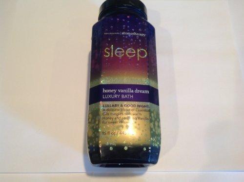 Bath and Body Works Aromatherapy Sleep Honey Vanilla Dream -Lullaby & Good Night
