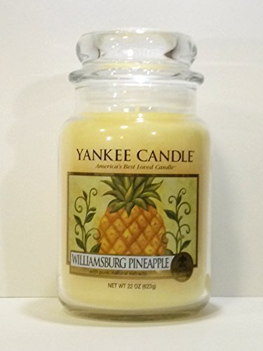 Williamsburg Pineapple - 22 Oz Large Jar Yankee Candle
