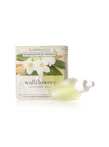 Bath and Body Works Slatkin & Co Sandalwood Vanilla Wallflowers Home Fragrance R