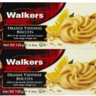 Walkers Orange Viennese Cookies - 5.3 oz