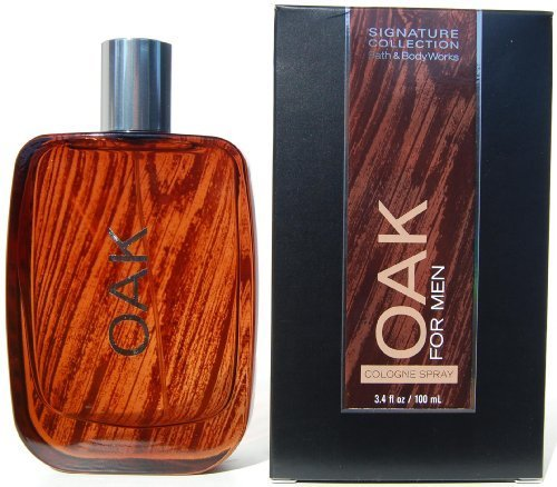 Bath & Body Works Oak FOR MEN Cologne Spray 3.4 oz