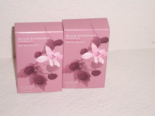 Bath & Body Works Signature Collection Black Raspberry Vanilla Eau De Toilette L