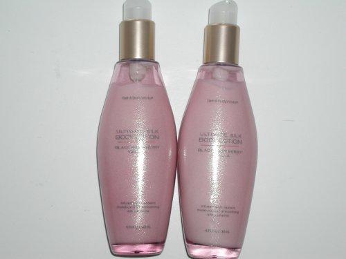 Bath & Body Works Ultimate Silk Black Raspberry Vanilla Body Lotion 4.75 Fl Oz -