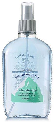 Bath & Body Works Men Mountain Frost Daily Refresher Splash 8 fl oz (236 ml)