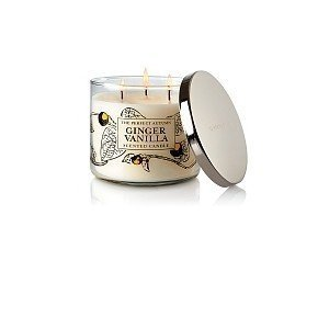 Bath and Body Works the Perfect Autumn Ginger Vanilla Scented Candle 3-wick