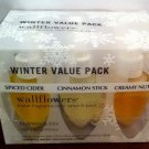 BATH & BODY WORKS SLATKIN & CO. WALLFLOWERS WINTE VALUE 6 PACK NIB