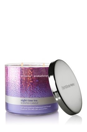 Night Time Tea Aromatherapy Candle 14.5 Ounce Bath and Body Works