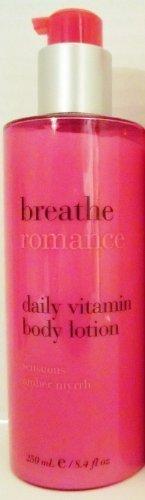 Breathe Romance Daily Vitamin Body Lotion 8.4 Oz