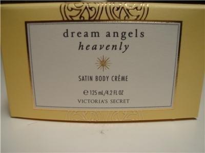 Victoria's Secret Dream Angels Heavenly Perfume Satin Body Cream Creme
