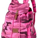 Victoria's Secret PINK School Backpack Book Bag Tote - Pink Camo