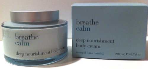 Bath & Body Works Breathe Calm Tranquil Lotus Blossom Body Cream 6.7 Oz