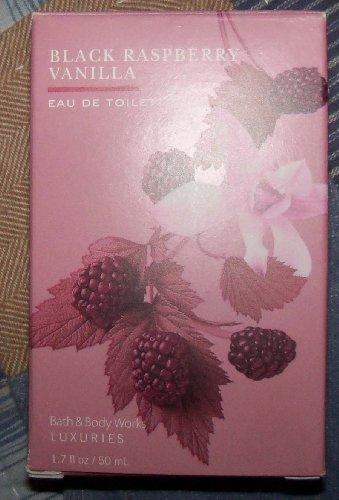 Bath & Body Black Raspberry Vanilla Eau De Toilette 1.7 Oz New !