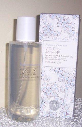Victoria's Secret Naturally VIOLET & JASMINE Fragrant Moisture Mist 10.1 FL OZ