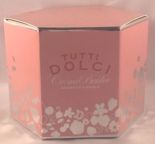 Tutti Dolci Scented Candle 8.5 Oz - Creme Brulee