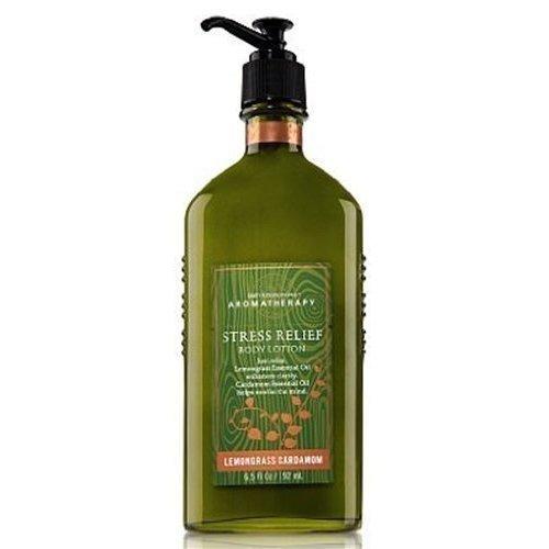 Bath & Body Works Aromatherapy Lemongrass Cardamom Stress Relief Body Lotion 6.5