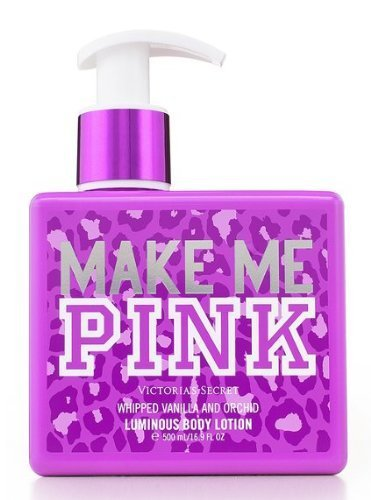 Victoria's Secret Pink Make Me Whipped Vanilla & Orchid Luminous Body Lotion 16.