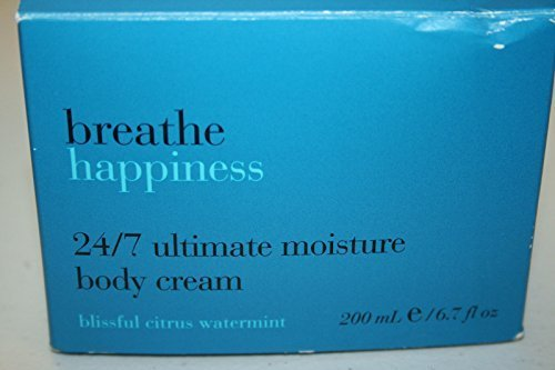 Bath and Body Works BREATHE HAPPINESS 24/7 Ultimate Moisture Body Cream 6.7 FL O
