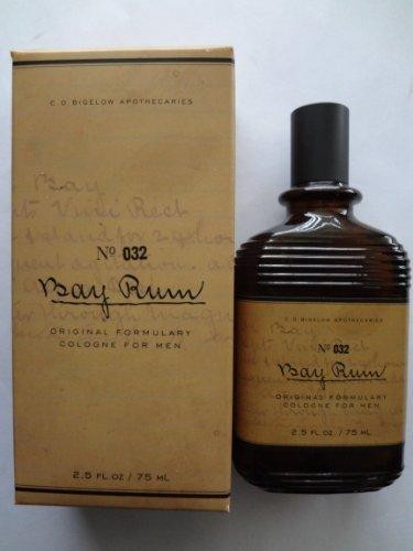 C.O. BIGELOW No. 032 BAY RUM COLOGNE FOR MEN 2.5 fl oz/75 ml