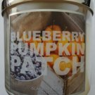 Bath & Body Works Slatkin & Co. BLUEBERRY PUMPKIN PATCH Scented Candle 14.5 oz/