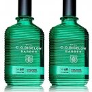 Lot of 2 C.o. Bigelow Elixir Green 1582 Cologne Spray 2.5 Oz