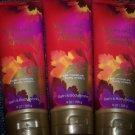 Lot of 3 Bath & Body Works Vermont Honey Apple Triple Moisture Body Cream 8 Fl O