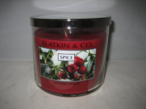 Bath and Body Works Slatkin & Co. SPICE Scented Candle 14.5 OZ