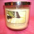 Bath and Body Works Slatkin & Co. 3 Wick -14.5 Oz Candle Creamy Pumpkin