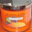 Slatkin & Co. Pumpkin Patch Scented Candle 3-Wick 14.5 oz Bath & Body Works