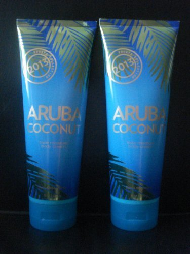 Bath & Body Works 2013 Escape Collection (2) Aruba Coconut Triple Body Cream 8 F