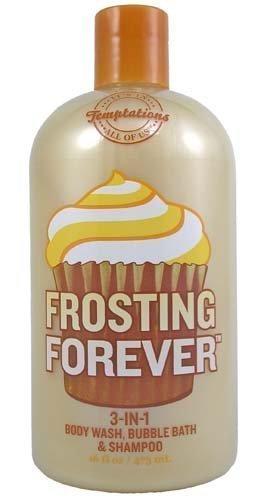 Bath & Body Works Temptations Frosting Forever 3 in 1 Body Wash, Bubble Bath, &