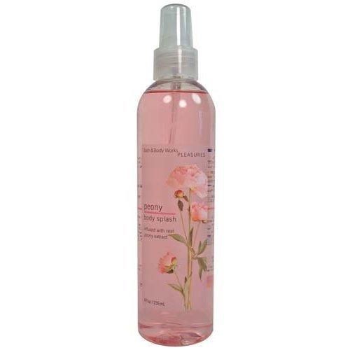 Bath & Body Works Pleasures Peony Body Splash 8 fl oz (236 ml)