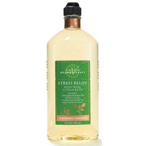 Bath & Body Works Aromatherapy Lemongrass Cardamom Stress Relief Body Wash & Foa
