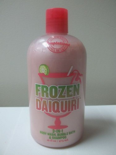 Bath & Body Works Temptations Frozen Daiquri 3-in-1 Body Wash, Bubble Bath & Sha