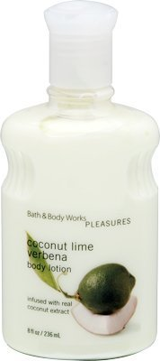 Bath & Body Works Pleasures Collection 8oz/236ml Coconut Lime Verbena Body Lotio