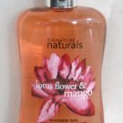 Signature naturals lotus flower & mango shower gel 10 fl/oz