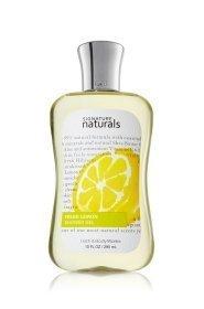 Signature Naturals Fresh Lemon Shower Gel 10 fl oz