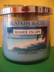 Seaside Escape 3 Wick Scented Candle - Bath and Body Works Slatkin & Co - 14.5oz
