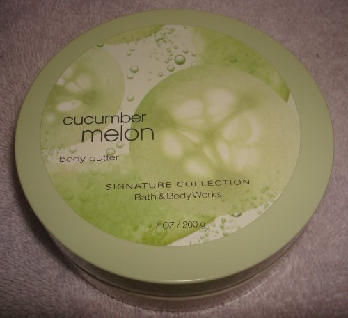 Bath and Body Works Cucmber Melon Body Butter 7 Oz