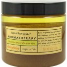 Bath & Body Works Aromatherapy Lemongrass Mandarin Energizing Sugar Scrub 16 oz