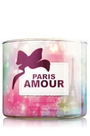 1 X Bath and Body Works Paris Amour 3 Wick Candle