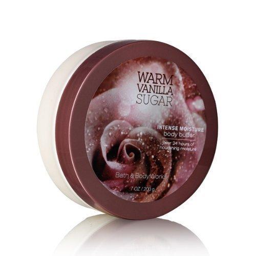 Bath Body Works Warm Vanilla Sugar 7.0 oz Intense Moisture Body Butter by Bath &