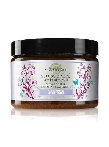 Bath & Body Works Vanilla Verbena Sugar Scrub Aromatherapy Stress Relief 13 oz