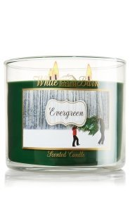 Bath and Body Works White Barn 3 Wick 14.5 Oz Candle (Evergreen)