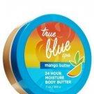 Bath & Body Works True Blue Spa 24 Hour Moisture Mango Body Butter 7 oz - Lot of